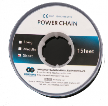 Elasto chain, clear, middle